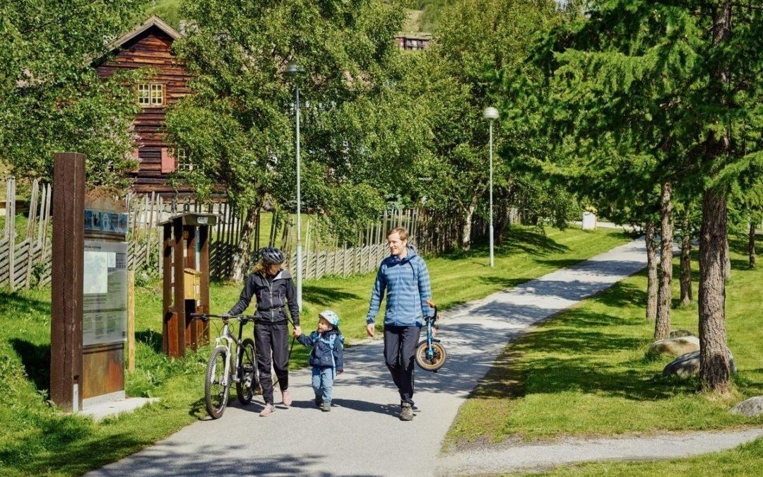 Ustedalsfjorden rundt på sykkel