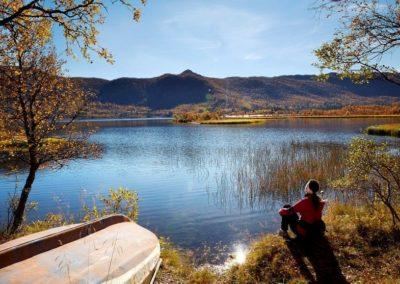 Ustedalsfjorden rundt geilo vandring host