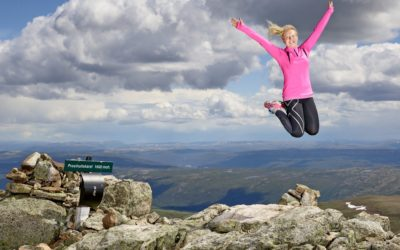 Prestholtstien – Sherpatrappen opp på Hallingskarvet