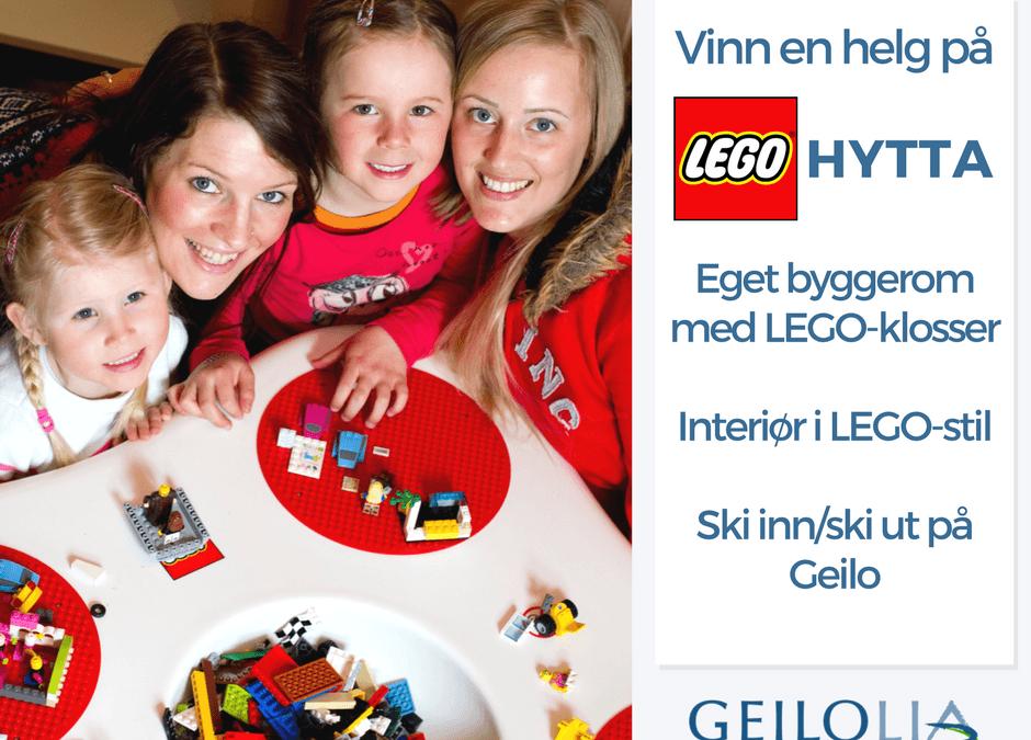 Vinn en helg på LEGO hytta