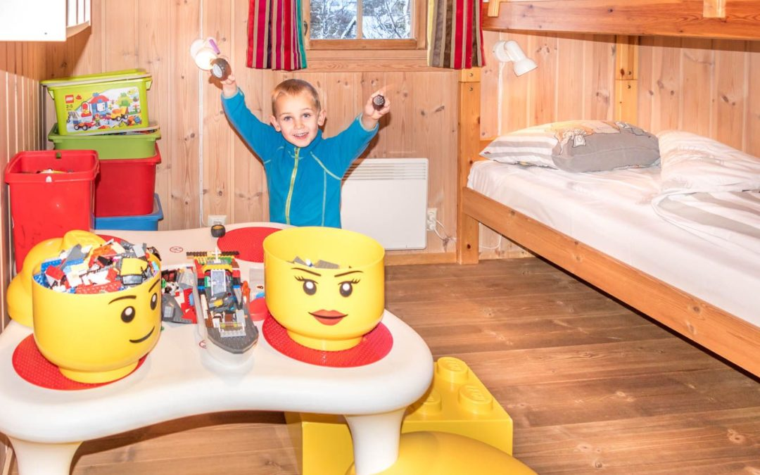 LEGO hytta/10 senger