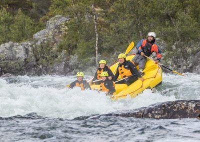 Rafting med Dagali Fjellpark, Geilo. Foto-Sven Erik Knoff