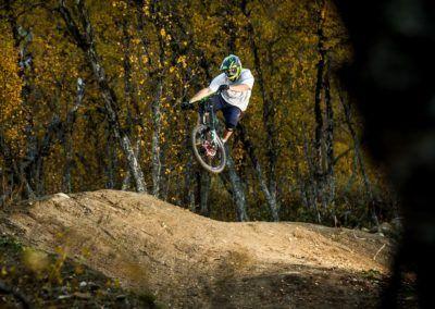 Downhill sykling på Geilo Foto: Clint Butcher