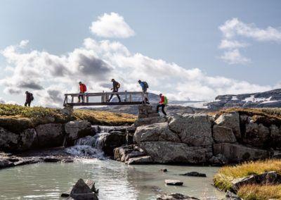 Vandring på Hardangervidda. Foto: Paul Arthur Lockhart