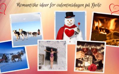 Romantiske idéer for valentinsdagen på Geilo