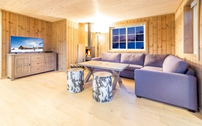 Superior hytte med 5 soverom/10 senger