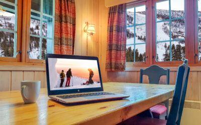 Workation på Geilo – flytt hjemmekontoret til fjells